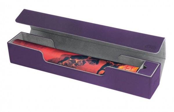 Besonders hochwertige Transport- und Aufbewahrungsbox für Spielmatten mit XenoSkin™-Oberfläche, Magnetverschluß und Zubehörfach. Der Premium-Schutz für Ihre Play-Mat!- Innovative XenoSkin™-Oberfläche mit Anti-Rutsch-Textur- Innenseite aus hochwertigem Mik