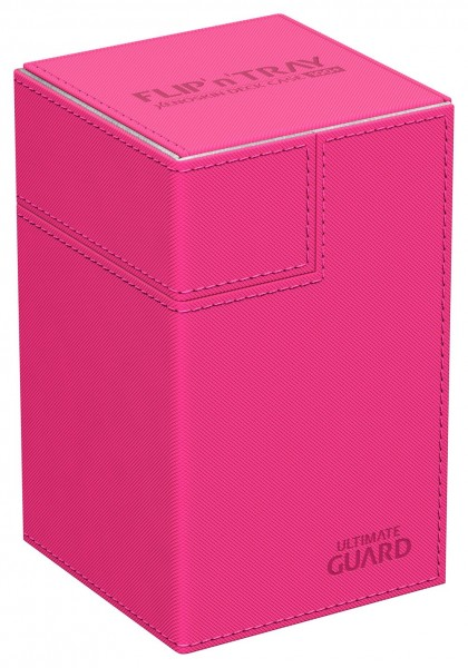 Luxuriöse Kartenbox mit Magnet-Verschluss, innovativer XenoSkin™-Oberfläche und Karten- und Zubehörfächern für den Schutz und die archivierungssichere Aufbewahrung von bis zu 100 Karten der Standardgröße (z.B. Magic the Gathering™, Pokemon™, usw.) in zwei