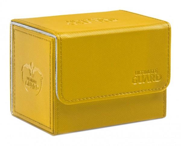 Das innovative SideWinder™ Deck Case ermöglicht einen besonders einfach Zugriff von beiden Seiten auf Ihr Kartendeck. Ideal für den Schutz und die sichere Aufbewahrung von Karten der Standardgröße in zwei Hüllen (double-sleeved). - Bietet Platz für bis z