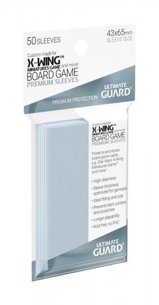 Der Pack enthält 50 hochwertige Kartenhüllen zur Aufbewahrung und zum Schutz von Brettspielkarten, passend für Spiele wie X-Wing™ und weitere.- Besonders hohe Transparenz- Säurefrei, kein PVC- Ideale Hüllengröße- Schützt vor abgeknickten Ecken und Kratzer