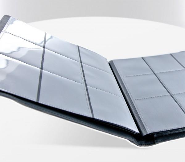 Hochwertige Kartenmappe mit flexiblem, strapazierfähigem XenoSkin-Einband und 20 integrierten 9-Pocket-Pages für alle Sammelkarten der Standard- und der Japanischen Größe.<br /><br />- Innovativer XenoSkin-Einband mit langlebiger Anti-Rutsch-Textur<br />-