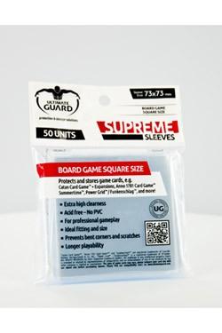 Der Pack enthält 50 hochwertige Kartenhüllen zur Aufbewahrung und zum Schutz von quadratischen Brettspielkarten, passend für Spiele wie Catan Card Game + Expansions, Anno 1701 Card Game, Summertime, Power Grid / Funkenschlag und weitere.<br /><br />- Beso