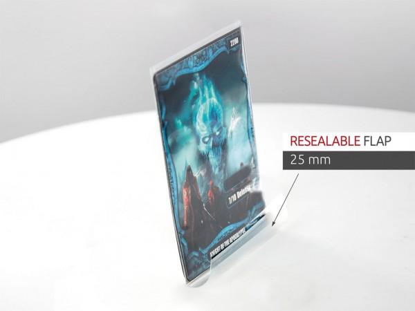 Der Pack enthält 100 innere Kartenhüllen zum zusätzlichen Schutz von Sammelkarten der Standardgröße (z.B. Magic the Gathering, Pokemon, usw.).- Passt perfekt in ULTIMATE GUARD Sleeves der Standardgröße (Hülle in Hülle)- Präzise Passform- Gleichbleibend ho
