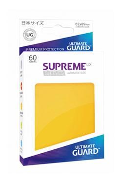 Der Pack enthält 60 hochwertige Kartenhüllen zur Aufbewahrung und zum Schutz von Sammelkarten der japanischen Größe (z.B. Yu-Gi-Oh!™).<br /><br /><strong>Bei Abnahme von 10 Packs werden diese zur optimalen Präsentation in einem hochwertigen Thekendisplay