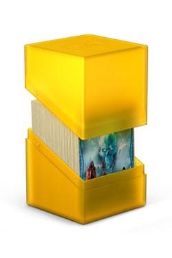 Die handliche, feste Kartenbox mit Soft-Touch-Oberfläche lässt sich besonders leicht öffnen und bietet Platz für bis zu 100 Karten der Standardgröße (double-sleeved). Dank ihrem modularen Design passt sie perfekt in Flip'n'Tray™ und Arkhive™ Cases.- Biete