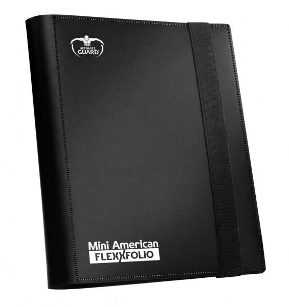 Hochwertige Kartenmappe mit flexiblem, strapazierfähigem Einband und 20 integrierten 9-Pocket-Pages, passend für Brettspielkarten der Größe Mini American. Ideal für Damage- und Upgrade-Karten aus dem X-Wing Miniatures Game(TM).- Für 360 Karten in Hüllen
