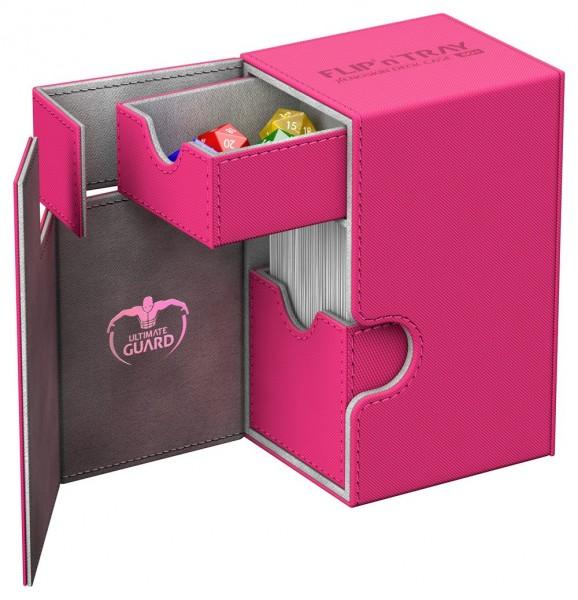 Luxuriöse Kartenbox mit Magnet-Verschluss, innovativer XenoSkin™-Oberfläche und Karten- und Zubehörfächern für den Schutz und die archivierungssichere Aufbewahrung von bis zu 80 Karten der Standardgröße (z.B. Magic the Gathering™, Pokemon™, usw.) in zwei