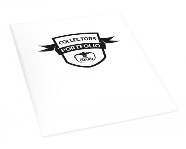 Hochwertige Kartenmappe mit festem, strapazierfähigem Einband und 10 integrierten 9-Pocket-Pages für alle Sammelkarten der Standard- und der Japanischen Größe. - Für 180 Karten in Hüllen (z.B. ULTIMATE GUARD Sleeves)