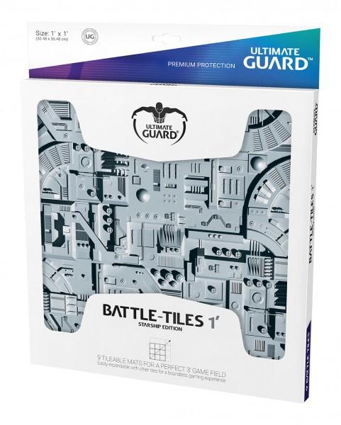 9 kachelbare Matten, perfekt für eine 3'-Spielfläche. Einfach erweiterbar mit anderen Battle-Tiles für ein grenzenloses Spielerlebnis.- Schützt Karten und Zubehör beim Spielen- Besonders dick! 2 mm Materialstärke- Weich gepolsterte Spielmatten- Rutschfest