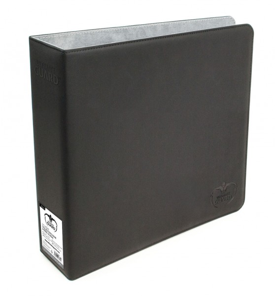Hochwertiger 2-Ringorder mit XenoSkin(TM)-Oberfläche für alle ULTIMATE GUARD Compact Pages. Das 75 mm breite Album mit verstärkten D-Ringen verfügt über gepolsterte und vernähte Front- und Back-Cover und einen transparenten Rückeneinschub mit beschreibbar